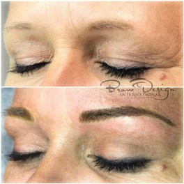 eyebrow microblading before and after pictures