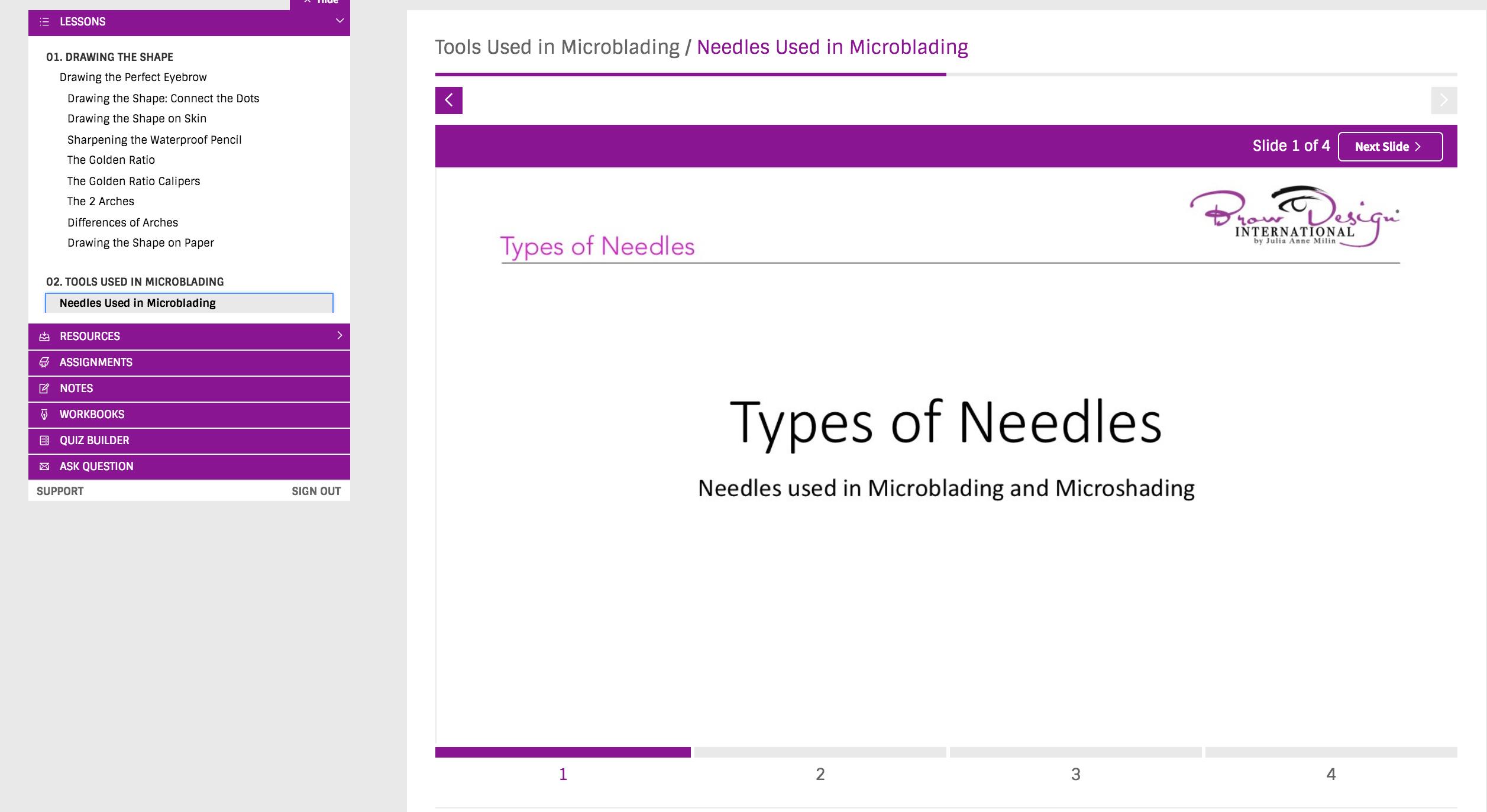 Brow Design Microblading Fundamentals® Online Course