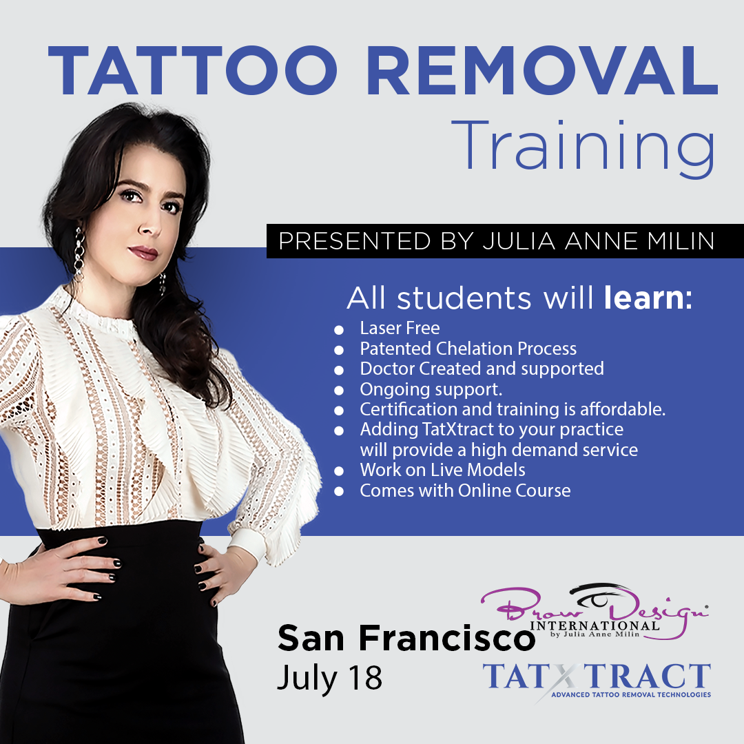 TatXtract Tattoo Removal Training - San Francisco July 18 2019 ...