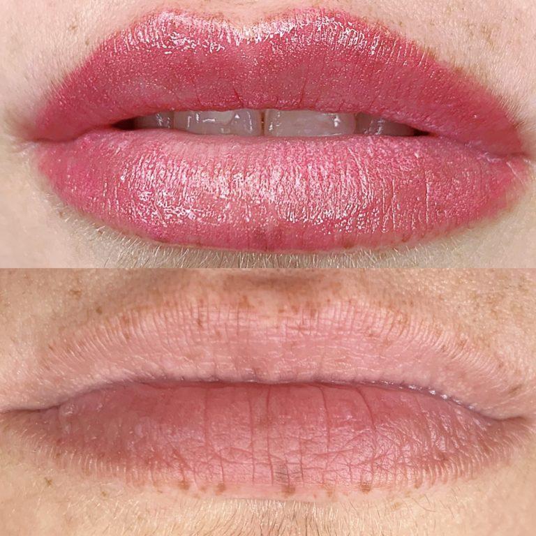 Lip Gloss Technique