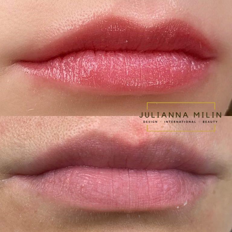 Julianna Milin lip blush