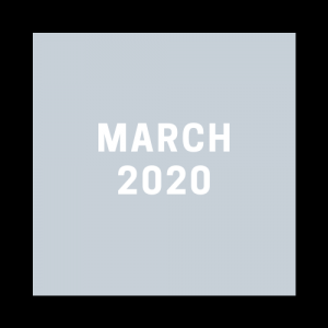 All March 2020