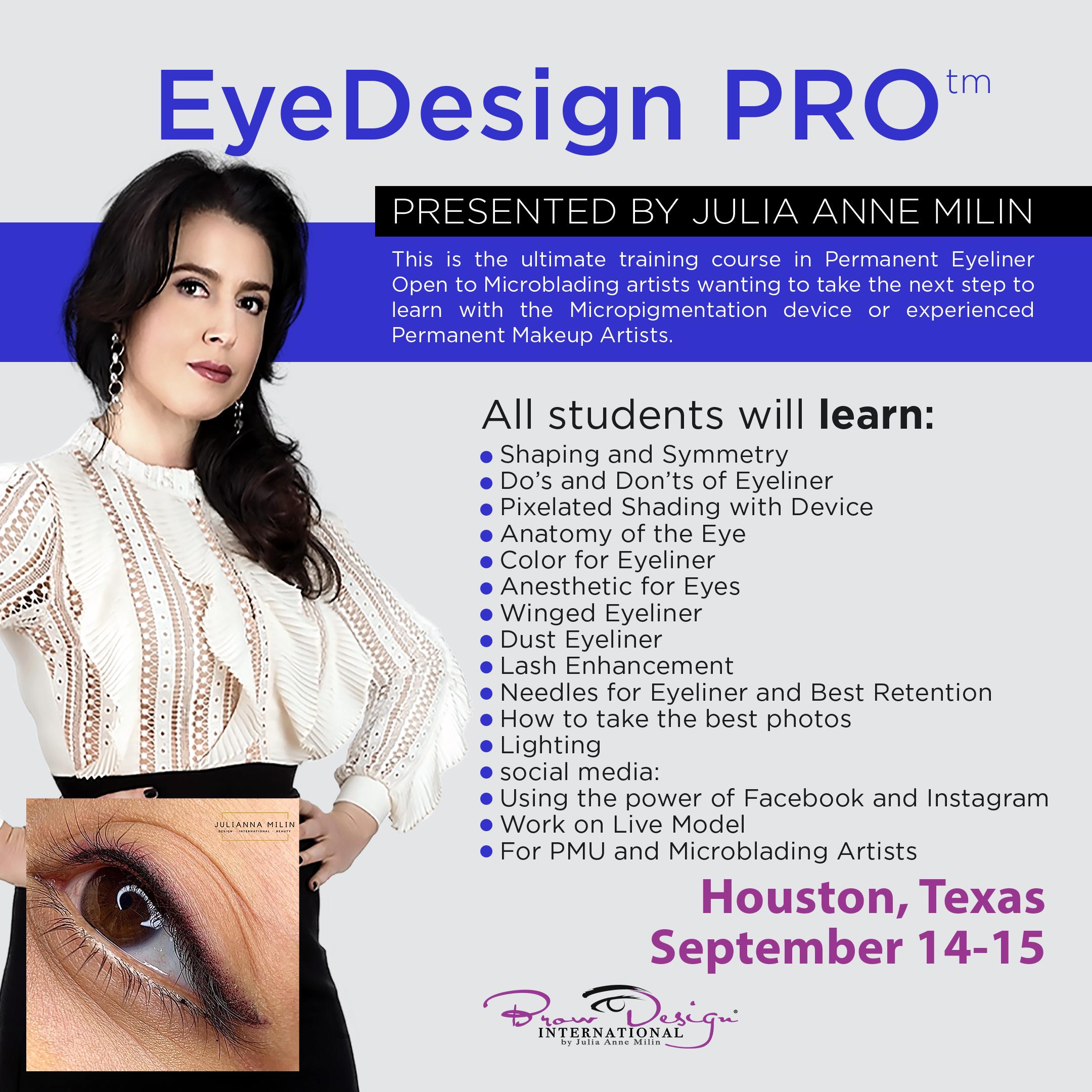 Eyedesign Pro September 14 15 2020